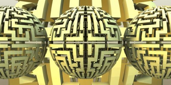 3D tapety a obrazy na zeď (labyrinth-sphere00.jpg)