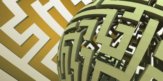 3D tapety a obrazy na zeď (labyrinth-sphere06.jpg)