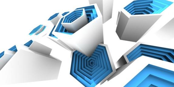 3D tapety a obrazy na zeď (multibevel-honeycomb03.jpg)