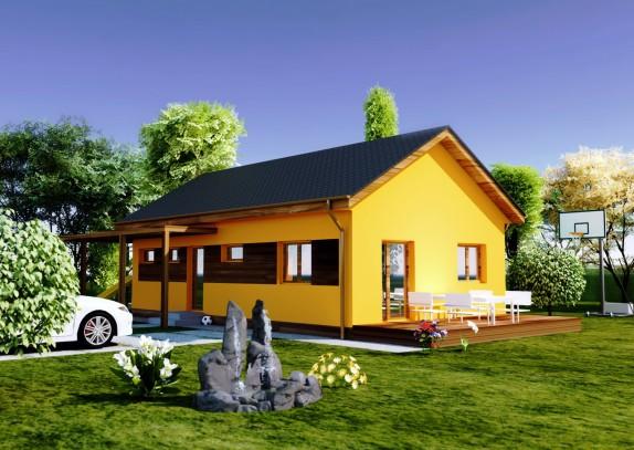 ARKO 3D vizualizace domu Klasik (klasik_hires0001.jpg)