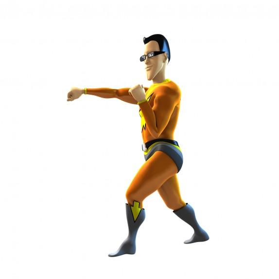 3D vizualizace maskota serveru (klikman04.jpg)